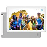 Tablet PC 10.1 Pollici 4G LTE Dual SIM /WiFi tablet Android 8.0 con 3GB di RAM e 32GB ROM Batteria 8000mAh- Argento