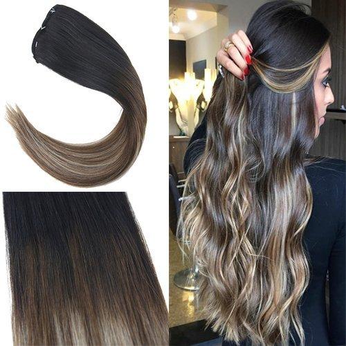 Voller Glanz Klebeband Auf Haar #6 Braun Verblassen Zu #613 Blonde Haar Extensions 50 Gramm 20 Stück 100% Remy Menschenhaar Cheveux Humain Haarverlängerung Und Perücken