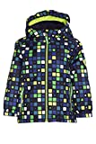 Killtec Kinder Cony Allover Mini Outdoorjacke, Lime, 122/128