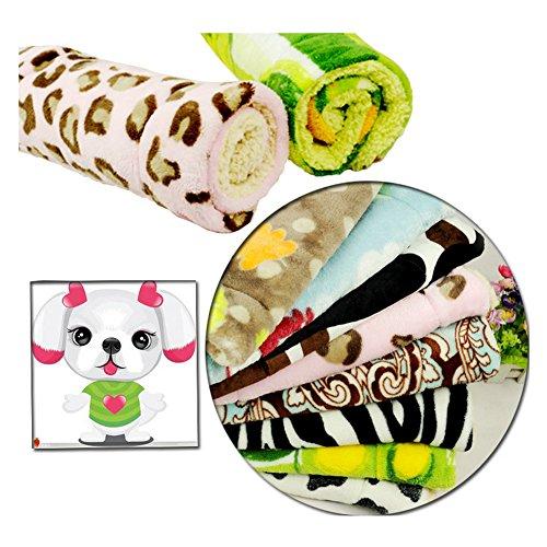 Weiche Betten für großen kleinen Hund Haus neue Ankunft große Hund Große Haustiere Betten weiche hohe Qualität Pad mehrfarbig Katzen Hund Matte (S M L) inkl. Hunde-decken (100*70cm) - 3