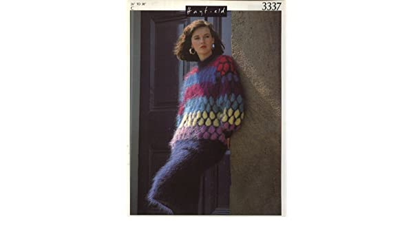 80be1e0060f8f HAYFIELD 3337 KNITTING PATTERN   Lady s girl s mohair sweater and skirt  suit (26-38in) (Luxury Mohair)  Amazon.co.uk  Books