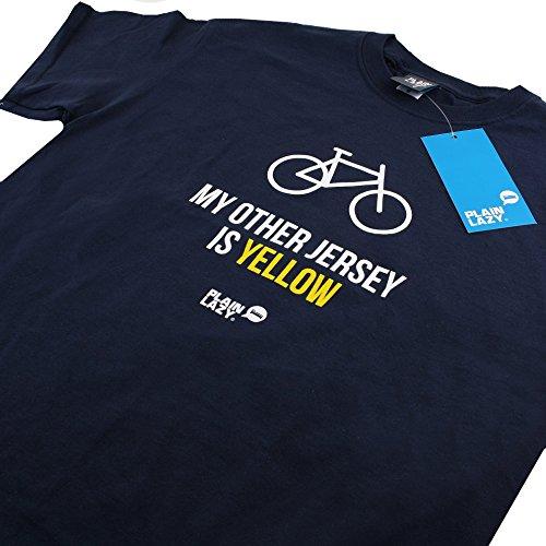 Plain Lazy Herren My Other Jersey-Mens T-Shirt blau (marineblau)