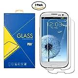 [2 Pack] Pellicola Vetro Temperato Samsung Galaxy S3 / S3 Neo - GT-i9300 / i9300i / 9300 / i9301i / i9301 / i9301 / SIII - Schermo Antiurto Antigraffio
