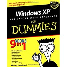 Windows XP All-in-One Desk Reference For Dummies (For Dummies (Computers)) by Woody Leonhard (2001-12-15)