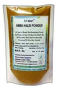 Le'ayur Amba Haldi (Curcuma Amada) Powder, 100 Gms