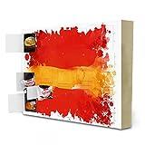 """Adventskalender mit Pralinen von Ferrero """"Flagge Spanien"""" Reise von Tatiana Davidova"""