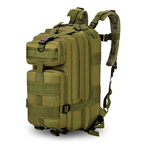 Sac à dos Tactique 35L Multifonction Militaire étanche nylon pour l'extérieur Camping Randonnée...