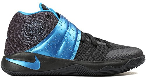 JR NIKE chaussures de basket-ball KYRIE 2 GS BLACK/BLUE GLOW-ANTHRACITE