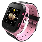 Life Like Kids Smartwatch with GPS Locator, Pedometer, Fitness Tracker, Touch, Camera, Games