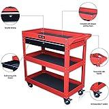 US PRO herramienta c'art trabajo carrito de herramientas gabinete rojo con cerradura cajones deslizantes con rodamientos