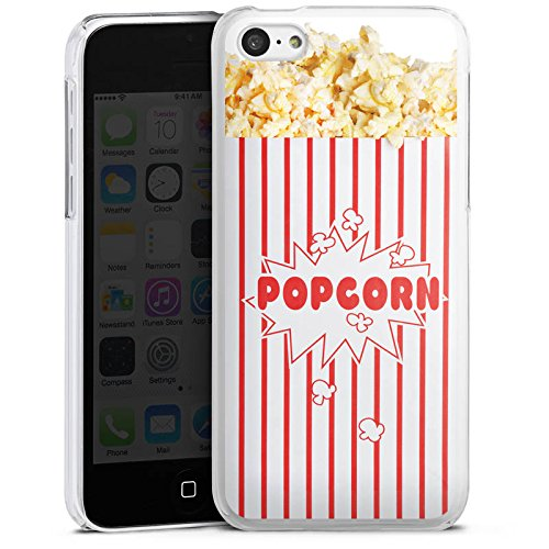 Hülle kompatibel mit Apple iPhone 5c Handyhülle Case Popcorn Kino Design - Case-kino 5c Iphone