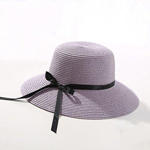 chapeau de soleil Chapeau de plage Sunscreen Ladies Curled Breathable Sun Hat ( Couleur : #5 ) #11