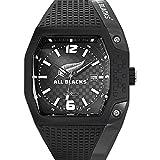 All Blacks Montre Homme Analogique Quartz avec Bracelet en Plastique - 680150