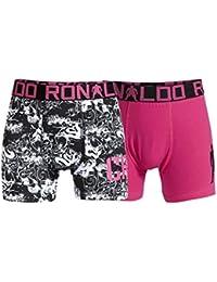 CR7 CRISTIANO RONALDO Underwear Trunk 2 Pack - Ropa interior deportiva, color multicolor, talla 7/9