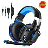 DAPING Casque Gamer Casque Gaming Micro Filaire Basse Stéréo Micro Casque PC Jeux...