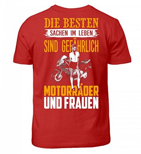 e47a0a5dbb5543 Shirtee Hochwertiges Kinder T-Shirt - Motorrad Shirt · Geschenkidee für  Superbike-Fahrer ·