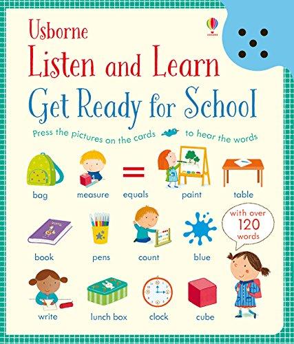 Listen and Learn Get Ready for School par Holly Bathie