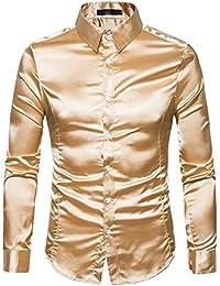 Suchergebnis auf Amazon.de für  herren - Gold   Hemden   Tops, T ... c3fb0b837d