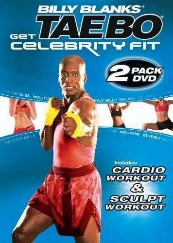 Tae Bo Billy Blanks Celebrity Fit Cardio & Sculpt 2 DVDs Set - Region 0 Worldwide (Tae Bo-dvd-set)