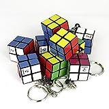 10 Stück 2x2 Zauberwürfel Schlüsselanhänger - Edition Cubikon