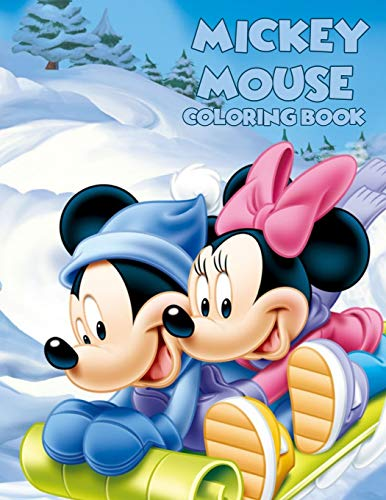 Mickey Mouse Coloring Book: Coloring Book for Kids and Adults