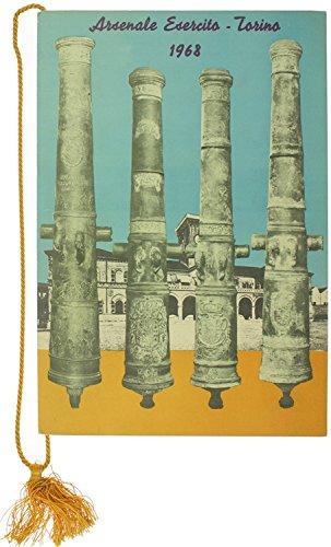 CALENDARIO DELL'ARSENALE DELL'ESERCITO - TORINO 1968. Con cordoncino originale.