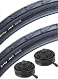 "Schwalbe City Jet 26"" Mountain Bike Slick Cycling Commuting Tyre 26"" x 1.95"""
