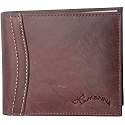 Tamanna Men Tan Leather Wallet