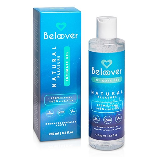 BELOOVER. Gel lubricante sexual. Lubricante natural