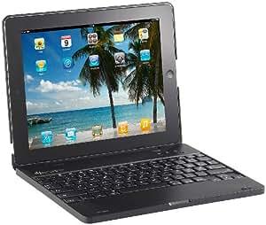 GeneralKeys iPad3/4-Netbook-Case mit 4000 mAh Akku, Bluetooth-Tastatur