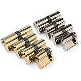 4 tlg. Schließzylinder Sicherheitsschloss Satz mit 12 Sicherheits Schlüsseln