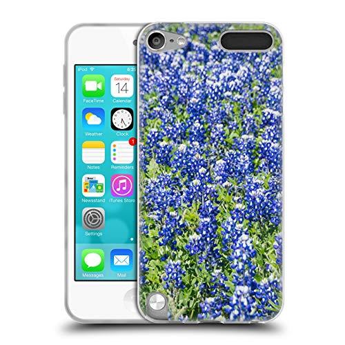 Offizielle Andrea Anderegg Blaue Wiesenlupine Gemischte Designs Soft Gel Huelle kompatibel mit Apple iPod Touch 5G 5th Gen