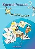 Sprachfreunde - Ausgabe Nord/Süd - 2010 und Neubearbeitungen 2015: 2. Schuljahr - Ferienspaß mit Freunden: Arbeitsheft. Beilage mit farbigen Klebestickern