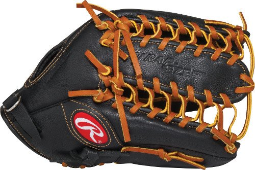 Rawlings Premium Pro Series Baseball-Handschuh, Herren, schwarz (Rawlings Catchers Ausrüstung)
