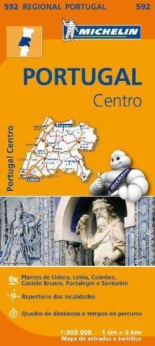Portugal Centro - Michelin Regional Map 592 par Michelin