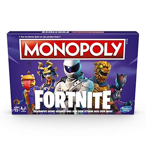 Monopoly Fortnite, Juego Mesa Partir 13 años Regalo