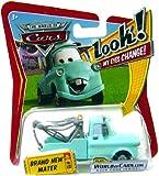 Disney Pixar P7028 Cars Lenticular Eyes #19 Brand New Mater 1:55 Diecast Vehicle Car