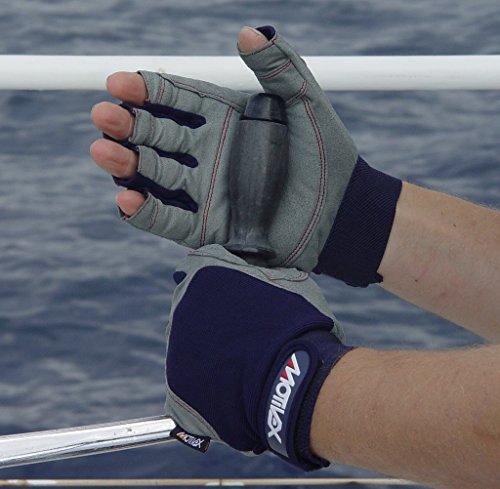 Motivex Halbfinger Segelhandschuhe im Test: Material & Praxis-Erfahrung - 2