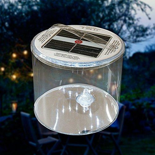 Lampe solaire Gaga, lanterne gonflable Luci pour l'intérieur et l'extérieur–Camping–Lumière spéciale fête–Lampe de poche–Lampe solaire