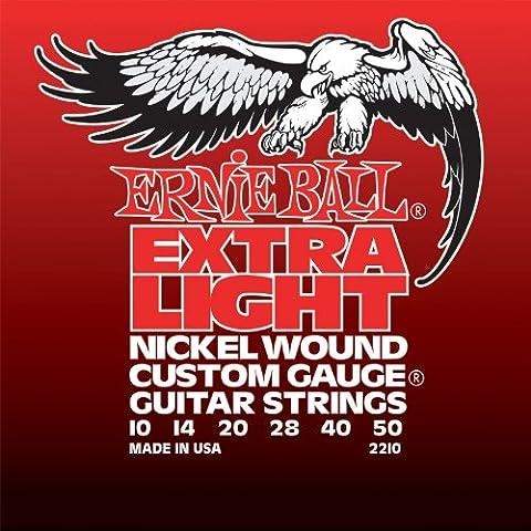 Ernie Ball Nickel Wound Custom Gauge Electric Guitar Strings