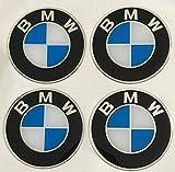 Unbekannt BMW ★4 Stück Aufkleber Emblem Felgen Nabendeckel Radkappen 70mm