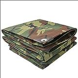 MILAYA Camouflage Plane, Outdoor Camouflage Verdickung Sonnenschutz Sonnensegel Canvas Zelt +