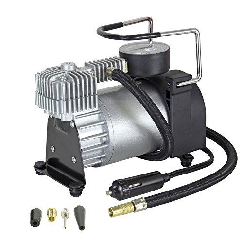Elastofit 12V Kompressor EL-K70 Metallgehäuse für alle PKW, Geländewagen, SUV, Reisemobile, LLKW und andere aufblasbare Artikel 35-40 L/min