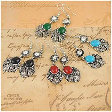 Signore-Signori ltd -Pendientes para Mujer de color Verde de talla Ver Descripción