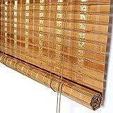 Store Enrouleur Store enrouleur en bambou avec cantonnière, rideaux de protection...