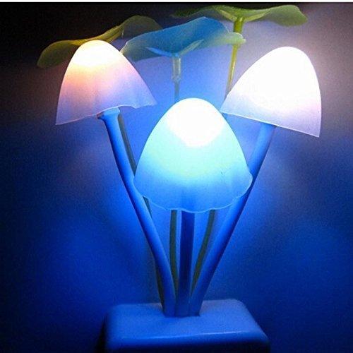 Foto de Luz nocturna recargable Sensor de movimiento lámpara de luz nocturna, 7colores LED lámpara de noche abs + PP plástico, luz decoración para niños, Prima Infancia, cama niños ju002