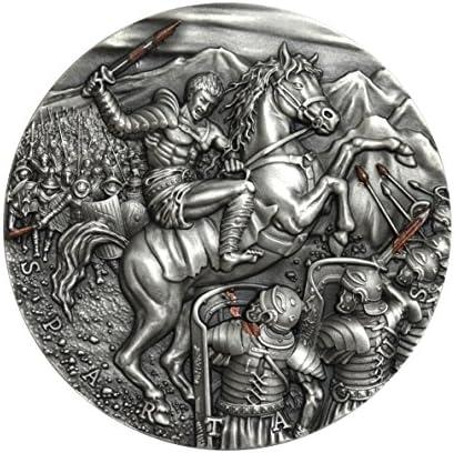 Hommes nica Polska Polska Polska (Mint of Poland) Excellent ComFemmedants – Spartacus $5 56,7 Gram Argent plaqué Or pièce de Monnaie – Niue 2017   Emballage Solide  1c75a7