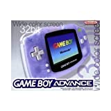 Nintendo Clear Blue Console (GBA)