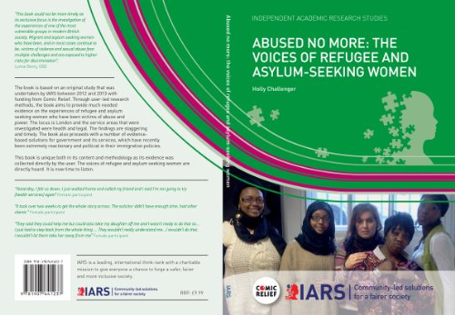 Abused No More: The Voices of Refugee and Asylum-seeking Women (English Edition)