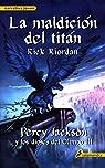 La maldición del titán par Riordan